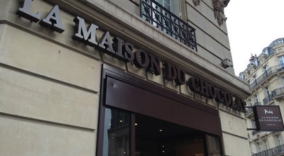 Photo of Chocolate Shop La Maison du Chocolat at 52 Rue Francois 1er, Paris 75008, France