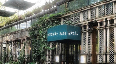 Photo of American Restaurant Bryant Park Grill at 25 W 40th St, New York, NY 10036, United States