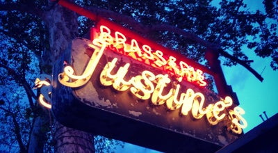 Photo of French Restaurant Justines Brasserie at 4710 E 5th St, Austin, TX 78702, United States