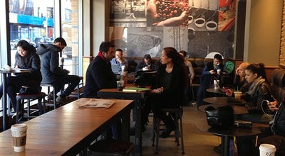 Photo of Coffee Shop Starbucks at 180 W Broadway, New York, NY 10013, United States