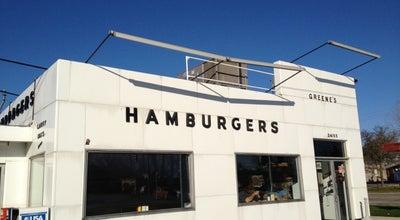 Photo of American Restaurant Greene's Hamburgers at 24155 Orchard Lake Rd, Farmington, MI 48336, United States