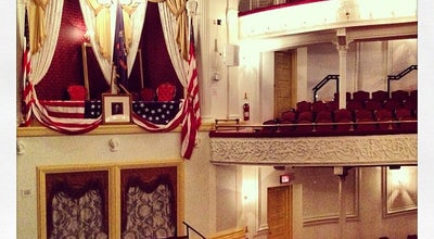 Photo of Historic Site Ford's Theatre at 511 10th St Nw, Washington DC, DC 20004, United States