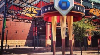 Photo of Baseball Stadium Chase Field at 401 E. Jefferson St., Phoenix, AZ 85004, United States