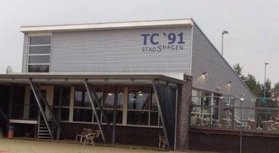 Photo of Tennis Court TC '91 Stadshagen at Oude Wetering 43, Zwolle 8043 MV, Netherlands
