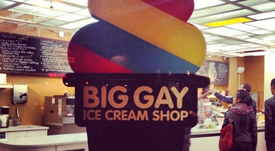 Photo of American Restaurant Big Gay Ice Cream Shop at 61 Grove St, New York, NY 10014, United States