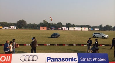 Photo of Racetrack Jaipur Polo Grounds at New Delhi, India