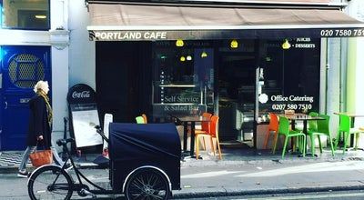 Photo of Cafe Portland Cafe at 132 Great Portland Street, Greater London W1W 6PU, United Kingdom