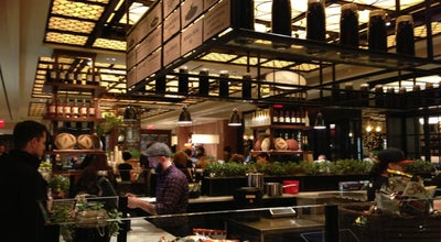 Photo of American Restaurant The Todd English Food Hall at 1 W 59th St, New York City, NY 10019, United States
