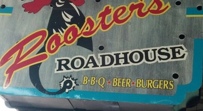 Photo of BBQ Joint Rooster's Roadhouse at 113 Industrial St, Denton, TX 76201, United States