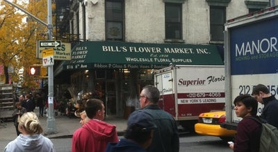 Photo of Flower Shop Bill's Flower Market at 816 Avenue Of The Americas, New York, NY 10001, United States