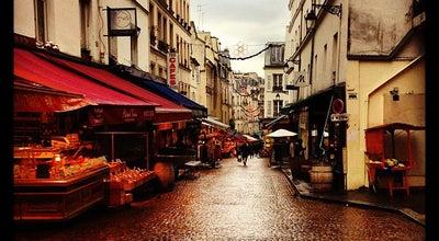 Photo of Tourist Attraction Rue Mouffetard Market at 5th Arrondissement 116 Rue Mouffetard, Paris 75005, France