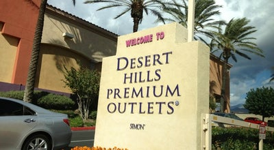 Photo of Mall Desert Hills Premium Outlets at 48400 Seminole Drive, Cabazon, CA 92230, United States