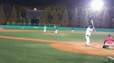Photo of Baseball Field 석수야구장 (Seoksu Baseball Field) at 만안구 안양로 595, 안양시, South Korea
