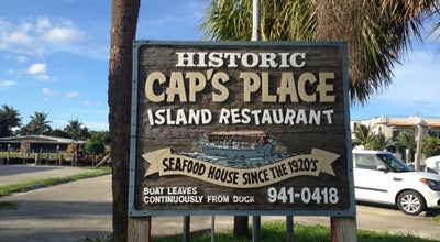 Photo of American Restaurant Cap's Place at 2765 N.e. 28th Court, Lighthouse Point, FL 33064, United States