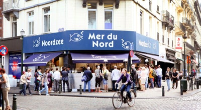 Photo of Belgian Restaurant Noordzee Mer du Nord at 45, Rue Sainte-catherine, Brussels 1000, Belgium