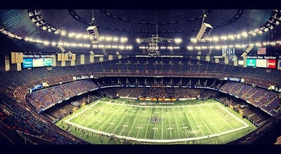 Photo of Football Stadium Mercedes-Benz Superdome at 1500 Sugar Bowl Dr, New Orleans, LA 70112, United States