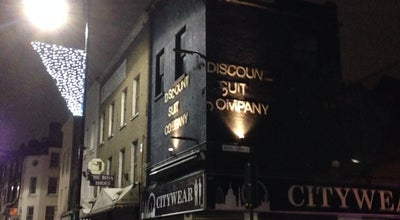 Photo of Nightclub Discount Suit Company at 29a Wentworth Street, London E1 7TB, United Kingdom