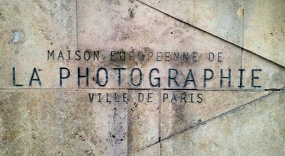 Photo of Tourist Attraction La Maison Europeenne de la Photographie at 82 Rue Francois Miron, Paris 75004, France