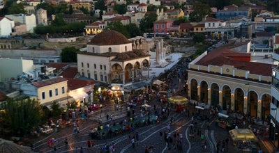 Photo of Tourist Attraction Flea Market at Ifestou Street, Monastiraki, Greece