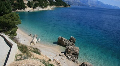 Photo of Beach Mimice at Omiš, Croatia