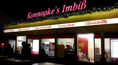 Photo of Tourist Attraction Konnopke's Imbiss at Schoenhauser Allee 44 B, Berlin 10435, Germany