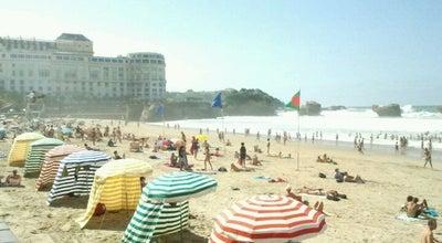Photo of Beach Grande Plage at Grande Plage, Biarritz 64200, France