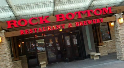 Photo of American Restaurant Rock Bottom Restaurant & Brewery at 10 Fountain Square, Cincinnati, OH 45202, United States