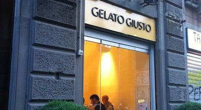 Photo of Italian Restaurant Gelato Giusto at Via San Gregorio 17, Milan 20124, Italy