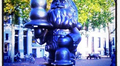 Photo of Monument / Landmark Santa Claus (Beeld) at Eendrachtsplein, Rotterdam, Netherlands