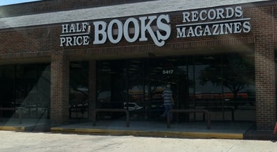 Photo of Bookstore Half Price Books at 5417 S Hulen St, Fort Worth, TX 76132, United States