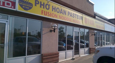 Photo of Asian Restaurant Pho Hoan Pasteur Fusion Noodle House at 11443 Kingsway Nw, Edmonton T5G 3E8, Canada