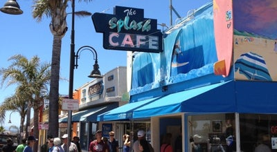 Photo of American Restaurant Splash Cafe at 197 Pomeroy Ave, Pismo Beach, CA 93449, United States