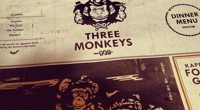Photo of Restaurant Three Monkeys at 上環蘇豪荷李活道151-155號地下, Hong Kong, Hong Kong