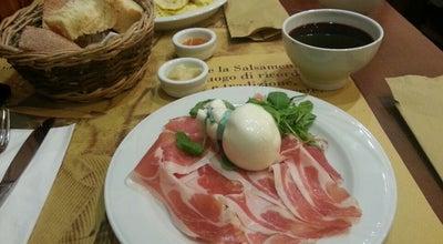 Photo of Italian Restaurant Salsamenteria di Parma at Via San Pietro All'orto 9, Milan 20121, Italy
