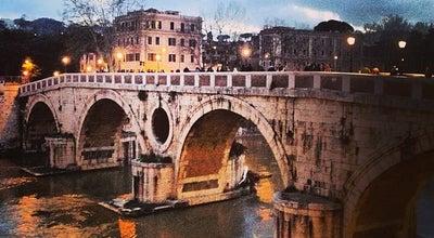 Photo of Monument / Landmark Ponte Sisto at Tra Piazza Farnesee Trastevere, Rome 00186, Italy
