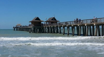 Photo of Beach Beach By Naples Pier at 25 12th St N, Naples, FL 34102, United States