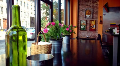 Photo of Latin American Restaurant Arepera Guacuco at 44 Irving St., Brooklyn, NY 11237, United States