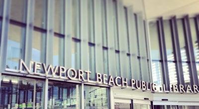 Photo of Library Newport Beach Public Library at 1000 Avocado Ave, Newport Beach, CA 92660, United States