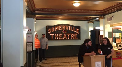 Photo of Tourist Attraction Somerville Theatre at 55 Davis Sq, Somerville, MA 02144, United States