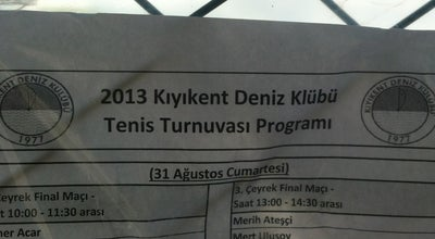 Photo of Tennis Court Kıyıkent Tenis Kortu at Turkey