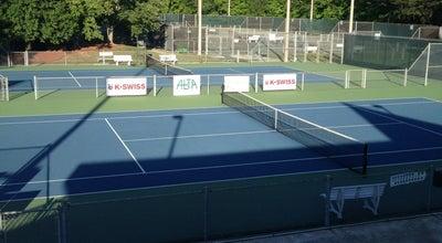 Photo of Tennis Court Sandy Springs Tennis Center at 500 Abernathy Rd, Atlanta, GA 30328, United States