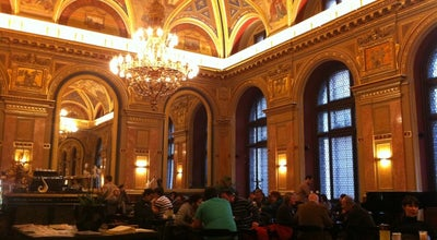 Photo of Tourist Attraction Book Cafe - Lotz Terem at Andrassy Ut 39, Budapest 1061, Hungary