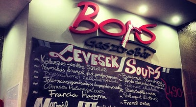 Photo of Fast Food Restaurant Bors GasztroBar at Kazinczy Utca 10., Budapest 1075, Hungary