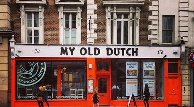 Photo of Creperie My Old Dutch at 131-132 High Holborn, Holborn WC1V  6PS, United Kingdom