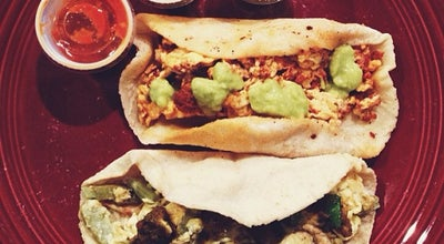 Photo of Mexican Restaurant Veracruz All Natural at 1704 E Cesar Chavez Street, Austin, TX 78702, United States