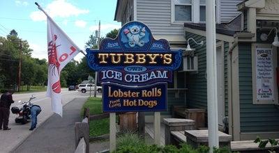 Photo of American Restaurant Tubby's Ice Cream at 512 Main St, Wayne, ME 04284, United States