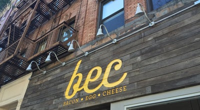 Photo of Cafe Bec at 148 8th Ave, New York City, NY 10011, United States
