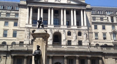 Photo of Bank Banca dInghilterra (Bank of England) at Threadneedle St, City of London EC2R 8AH, United Kingdom