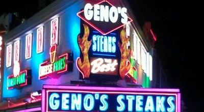Photo of Restaurant Geno's Steaks at 1219 S 9th St, Philadelphia, PA 19147, United States