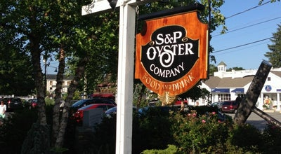 Photo of American Restaurant S & P Oyster Co at 1 Holmes St, Mystic, CT 06355, United States